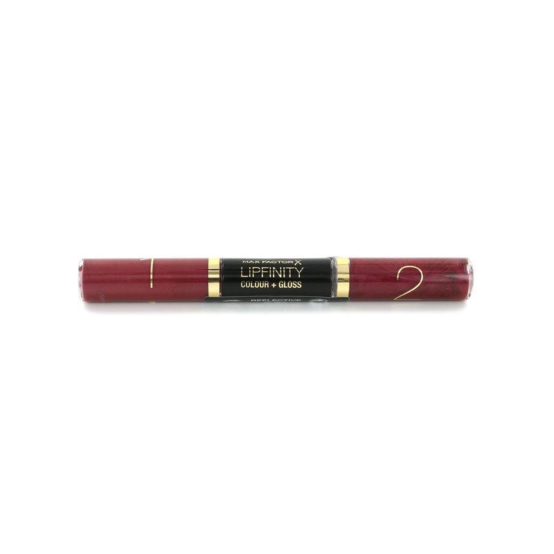 Max Factor Lipfinity Colour + Gloss Lippenstift - 550 Reflective Ruby