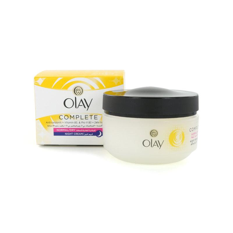 Olaz Complete Nachtcrème (Voor normale tot droge huid)