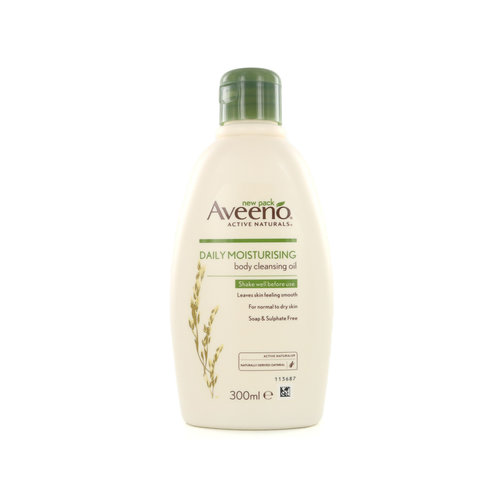 Aveeno Daily Moisturizing Body Cleansing Oil (voor normale tot droge huid)