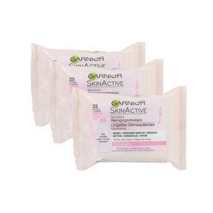 SkinActive Reinigingsdoekjes - Micellair (3 Stuks - Voor gevoelige huid)