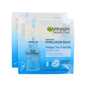 SkinActive Hyaluron Shot Masker (2 Stuks)