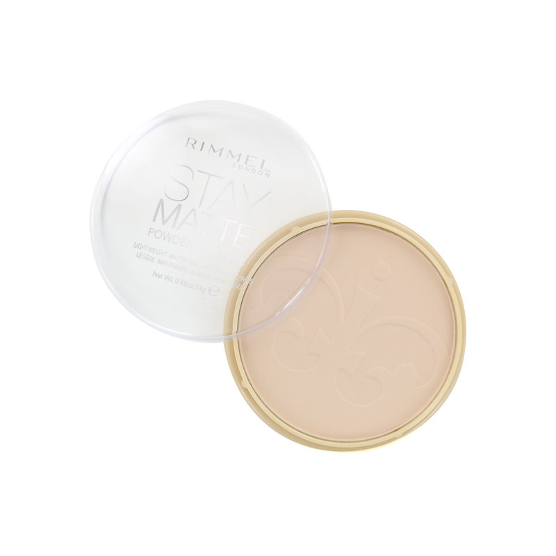 Rimmel Stay Matte Pressed Powder - 012 Buff Beige