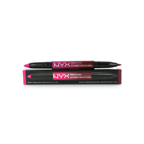 NYX Ombre Lip Duo - Hollywood & Wine