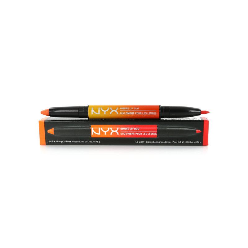 NYX Ombre Lip Duo - Peaches & Cream