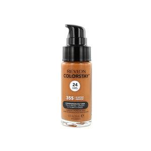 Colorstay Matte Finish Foundation - 355 Almond (voor vette en gecombineerde huid)