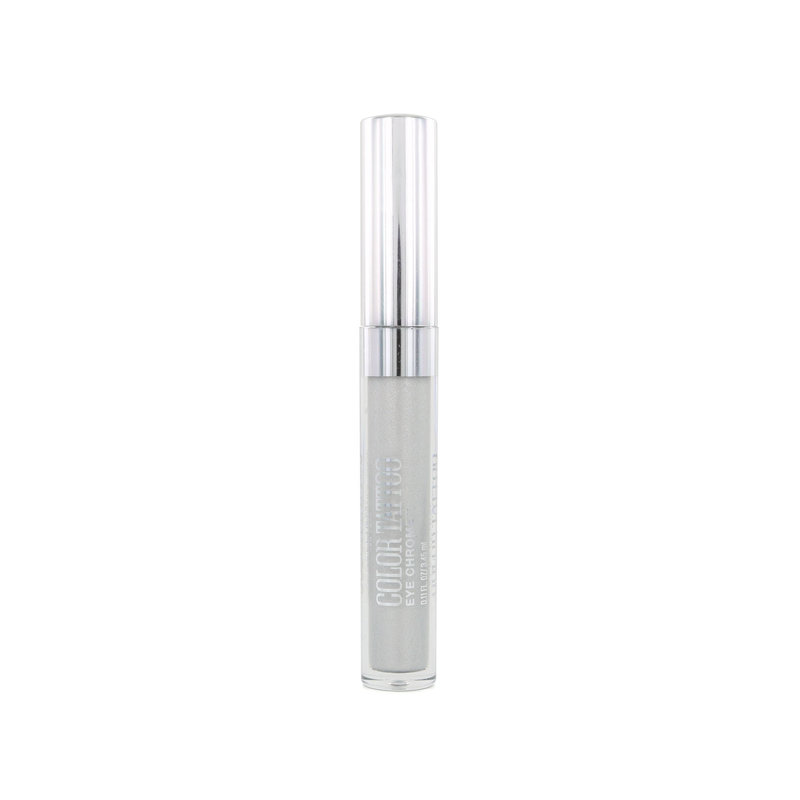 Maybelline Color Tattoo Eye Chrome Oogschaduw - 580 Silver Spark