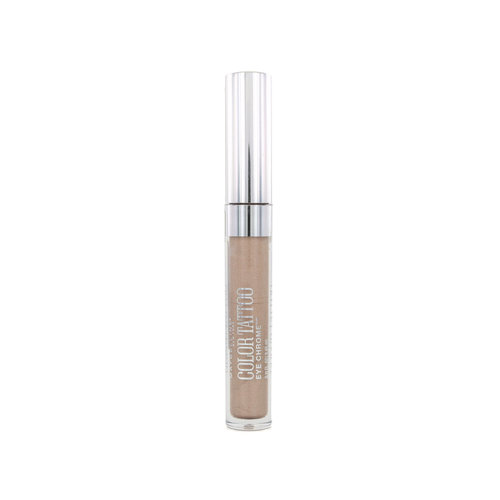 Maybelline Color Tattoo Eye Chrome Oogschaduw - 510 Beige Luster