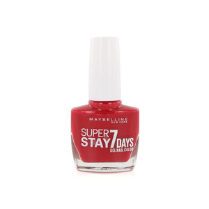 SuperStay 7 Days Nagellak - 505 Forever Red