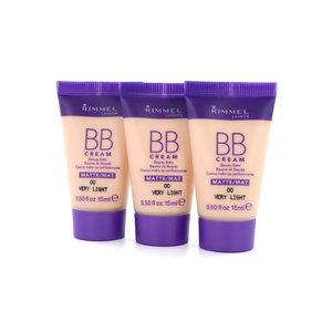 Matte BB Cream - 00 Very Light (Testers 3 x 15 ml)