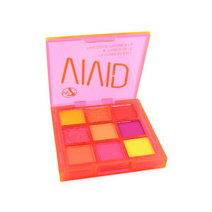 Vivid Pressed Pigment Oogschaduw Palette - Outrageous Ornage