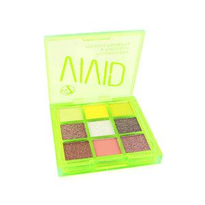 Vivid Pressed Pigment Oogschaduw Palette - Glowin' Green