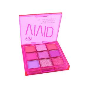 Vivid Pressed Pigment Oogschaduw Palette - Punchy Pink