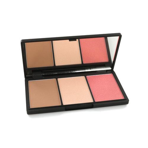 Sleek Face Form Contouring & Blush Palette - Light