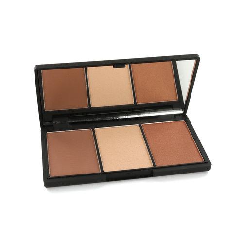 Sleek Face Form Contouring & Blush Palette - Medium