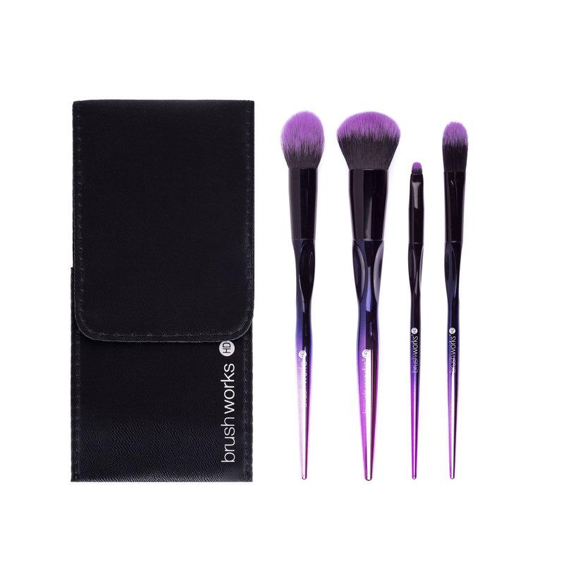 Brushworks HD Complete Face Makeup Brush Set