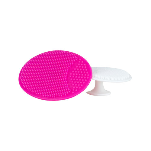 Brushworks Silicone Cleansing Pads (2 Stuks)
