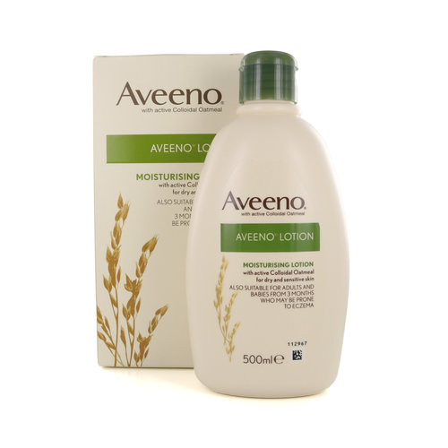 Aveeno Moisturizing Lotion - 500 ml (voor droge en gevoelige Huid)