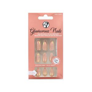 Glamorous Nails - Shiny Pearl (met nagellijm)