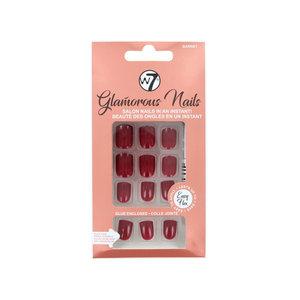 Glamorous Nails - Garnet (met nagellijm)