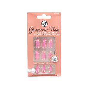 Glamorous Nails - Pink Bell (met nagellijm)