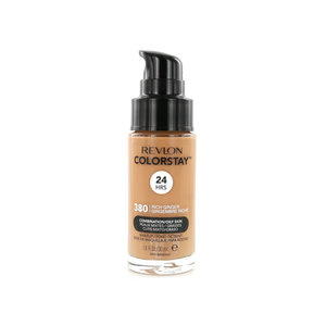 Colorstay Matte Finish Foundation - 380 Rich Ginger (Combination/Oily Skin)