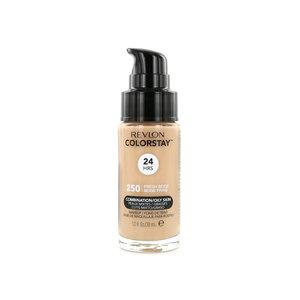 Colorstay Matte Finish Foundation - 250 Fresh Beige (Combination/Oily Skin)