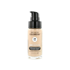 Colorstay Matte Finish Foundation - 220 Natural Beige (Combination/Oily Skin)