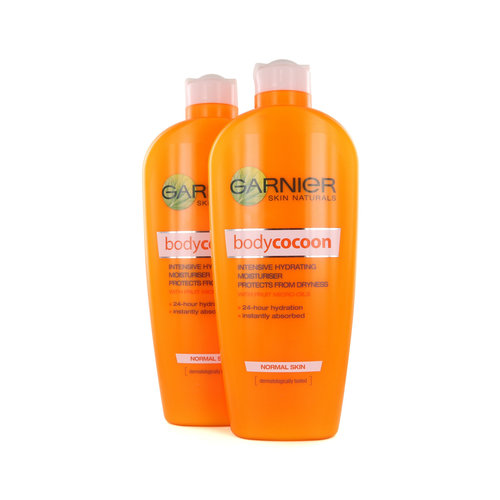 Garnier Skin Naturals Body Cocoon Bodylotion - 2 x 400 ml (voor normale huid)