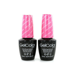 GelColor Nagellak - Can't Hear Myself Pink! (2 stuks)