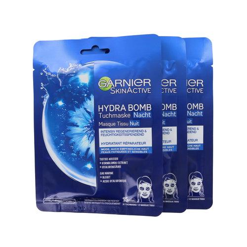 Garnier Skin Active Hydra Bomb Masker - 3 x 32 gram (set van 3)