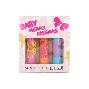Baby Lips Lipbalm - Hydrate / Cherry Me / Pink Punch (Cadeauset)