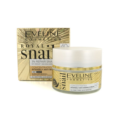 Eveline Royal Snail Concentrated Actively Smoothing Cream - Day and Night 40+ - 50 ml