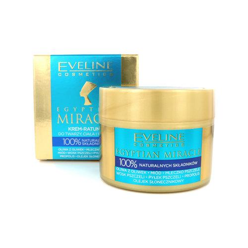 Eveline Egyptian Miracle Rescue Cream Body Cream - 40 ml (buitenlandse verpakking)