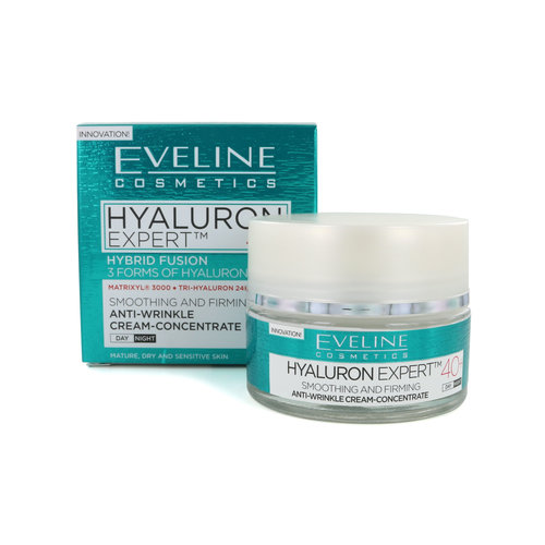 Eveline Hyaluron Expert Day and Night 40+ Anti-rimpel crème - 50 ml