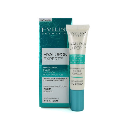 Eveline Hyaluron Expert Anti-Wrinkle Oogcrème - 15 ml