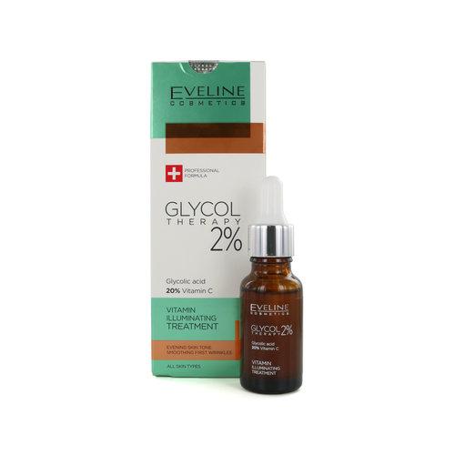 Eveline Glycol Therapy 2% Vitamin Illuminating Treatment Anti-rimpel crème - 18 ml