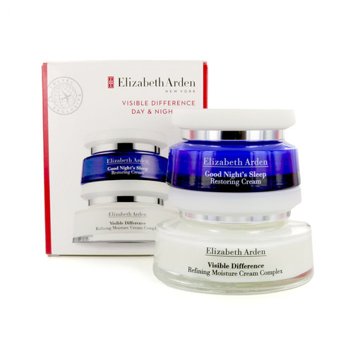Elizabeth Arden Visible Difference Day & Night Duo Cadeauset - 100 ml - 50 ml