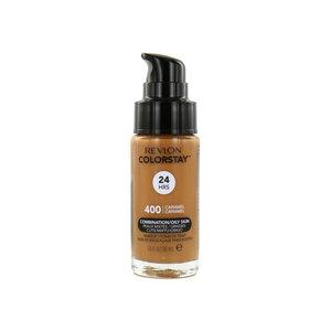 Colorstay Matte Finish Foundation - 400 Caramel (Combination/Oily Skin)