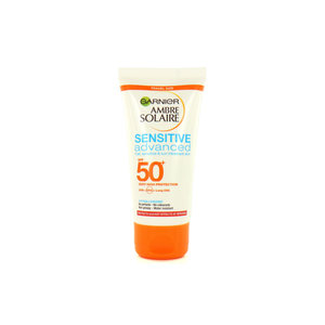 Ambre Solaire Advanced Sensitive SPF 50 Zonnebrandcrème - 50 ml