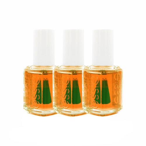 Essie Apricot Cuticle Oil (set van 3)