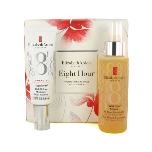Elizabeth Arden Eight Hour Multitasking Miracle Moisturizer Cadeauset