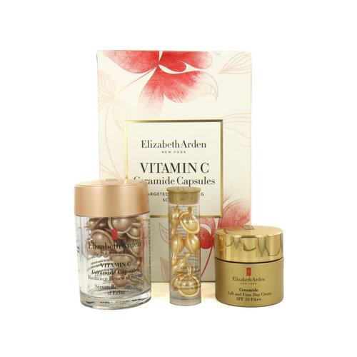 Elizabeth Arden Ceramide Vitamin C Capsules Targeted Brightening Solution Cadeauset
