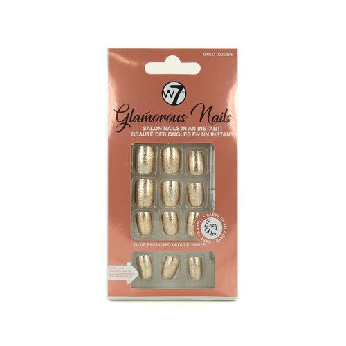 W7 Glamorous Nails - Gold Digger