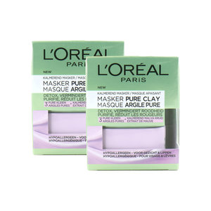 Pure Clay Masker - 2 x 50 ml (set van 2)