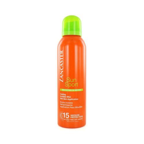Lancaster Sun Sport Cooling Invisible Mist Zonnebrand Spray - 200 ml (SPF 15)