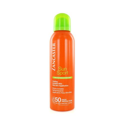 Lancaster Sun Sport Cooling Invisible Mist Zonnebrand Spray - 200 ml (SPF 50)