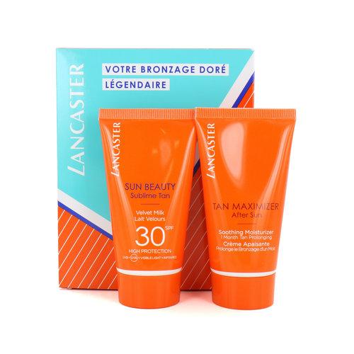 Lancaster Sun Beauty Sublime Tan + Tan Maximizer SPF 30 - 2 x 50 ml (Franse Tekst)