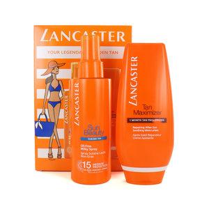 Sun Beauty Sublime Tan Milky Spray + Tan Maximizer - 150 ml + 125 ml (SPF 15)