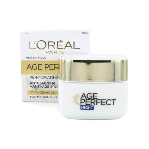 L'Oréal Age Perfect Re-Hydrating Nachtcrème - 50 ml