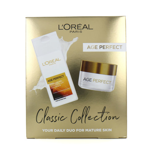 L'Oréal Age Perfect Classic Collection Cadeauset - 200 ml + 50 ml